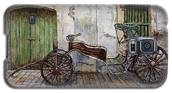 A Carriage On Crisologo Street 2 Galaxy S5 Case by Joey Agbayani