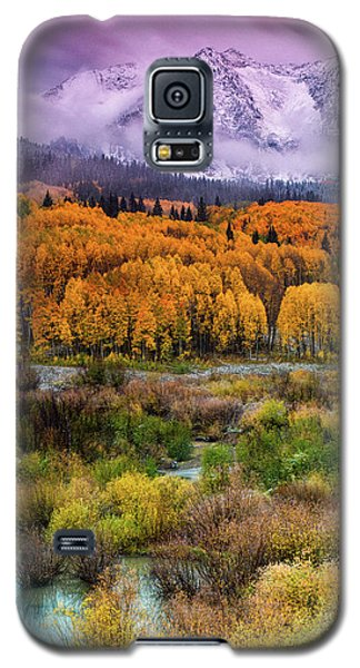 A Fall Snow At Sunrise Galaxy S5 Case