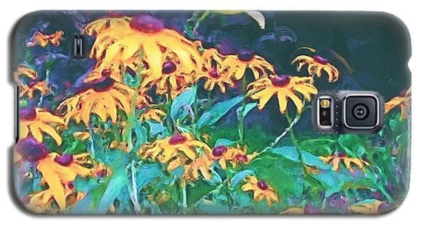 Galaxy S5 Case featuring the painting A Lily In The Field by Patricia Griffin Brett