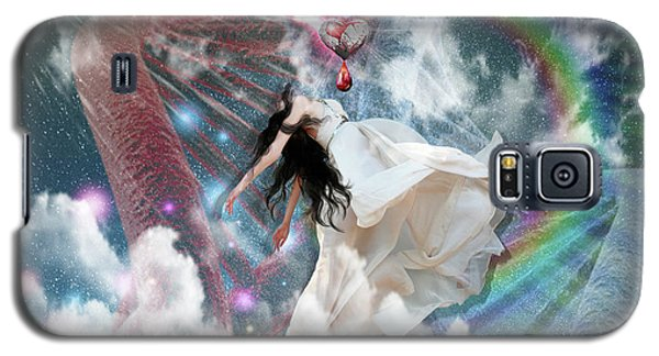 A New Heart Galaxy S5 Case by Dolores Develde