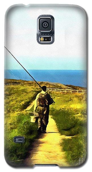 A Plaice To Fish Galaxy S5 Case