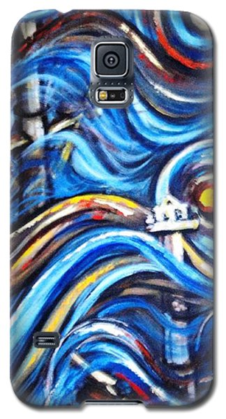 Galaxy S5 Case featuring the painting A Ray Of Hope 4 by Harsh Malik