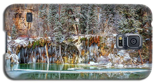 Olena Art Serene Chill Hanging Lake Photograph The Gem Of Glenwood Canyon Colorado Galaxy S5 Case