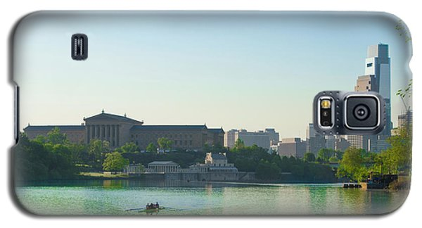 Galaxy S5 Case featuring the photograph A Spring Morning In Philadelphia by Bill Cannon