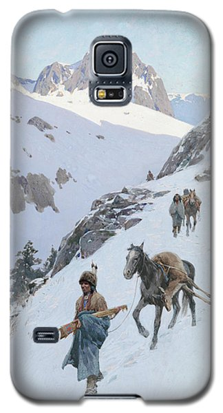 A Successful Hunt Galaxy S5 Case by Henry Francois Farny