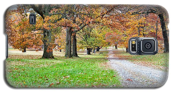 Galaxy S5 Case featuring the photograph A Walk In The Park by Robert Culver
