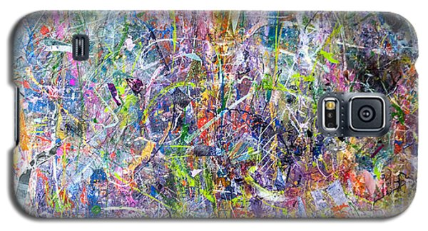 Abstract #87 Galaxy S5 Case