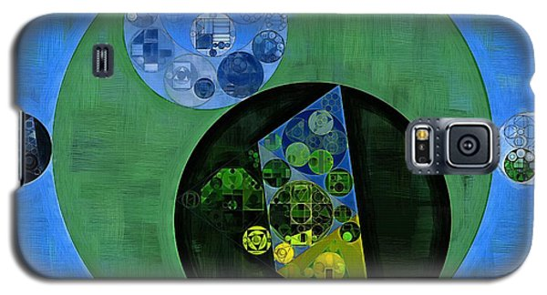 Galaxy S5 Case featuring the digital art Abstract Painting - Amazon by Vitaliy Gladkiy