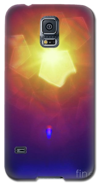 Galaxy S5 Case featuring the photograph Abstract Sunlight by Atiketta Sangasaeng