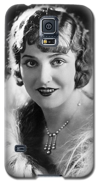 Actress Agnes Ayres Galaxy S5 Case by Underwood Archives