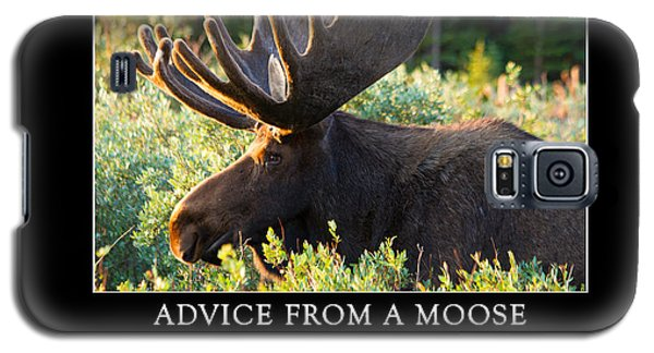 Advice From A Moose Galaxy S5 Case