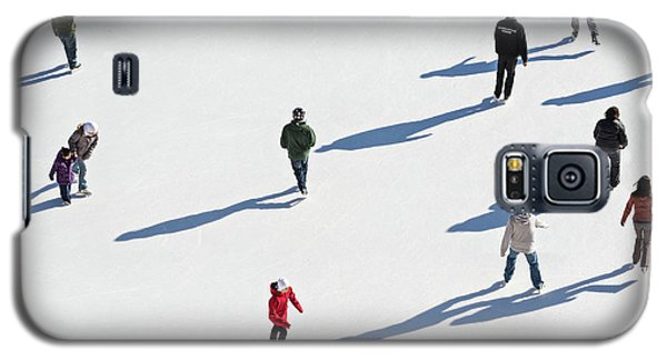 Aerial View Of Ice Skating Galaxy S5 Case