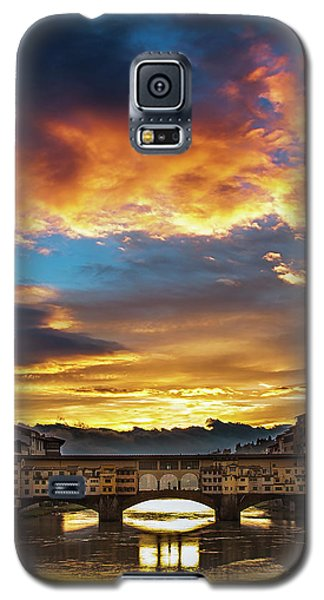 Galaxy S5 Case featuring the photograph After The Storm In Florence by Andrew Soundarajan