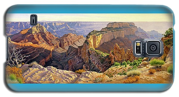 Grand Canyon Galaxy S5 Case - Afternoon-north Rim by Paul Krapf