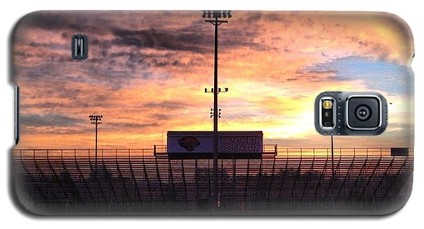 Alma High School Don Miller Field Sunrise Bleachers Galaxy S5 Case