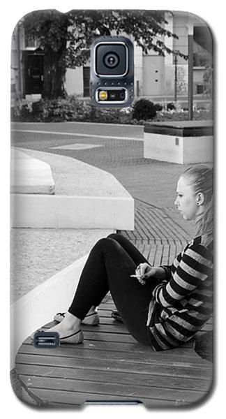 Alone Galaxy S5 Case by Jivko Nakev