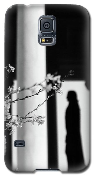 Galaxy S5 Case featuring the photograph Alone by Mitch Cat