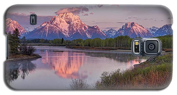 Alpenglow At Oxbow Bend Galaxy S5 Case