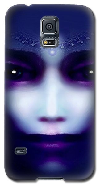 Angel  Blue Galaxy S5 Case