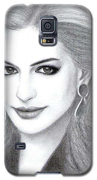 Anne Hathaway Galaxy S5 Case