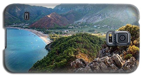 Fantasy Galaxy S5 Case - #antalya #adrasan #castle #landscape by Ozan Goren