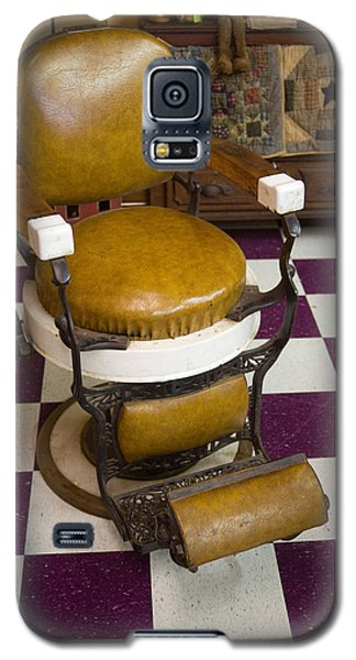 Antique Barber Chair 3 Galaxy S5 Case