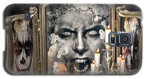 Antique Vampire Paintings Galaxy S5 Case