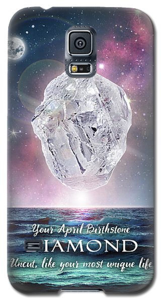 April Birthstone Diamond Galaxy S5 Case