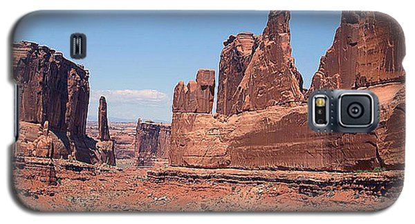 Arches National Park Panorama Galaxy S5 Case by Merton Allen