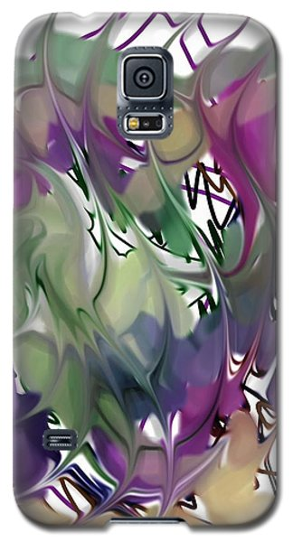 Galaxy S5 Case featuring the digital art Art Abstract by Sheila Mcdonald