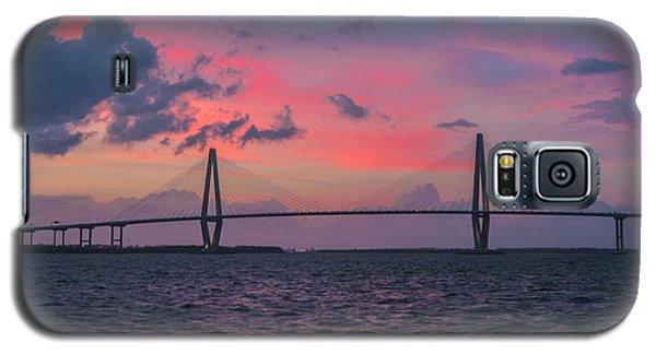 Galaxy S5 Case featuring the photograph Arthur Ravenel Bridge by RC Pics