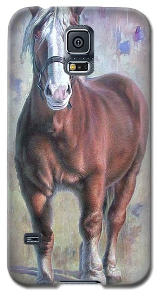 Arthur The Belgian Horse Galaxy S5 Case