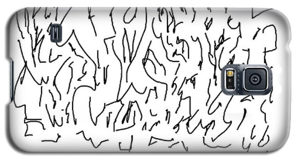 Asemic Writing 01 Galaxy S5 Case
