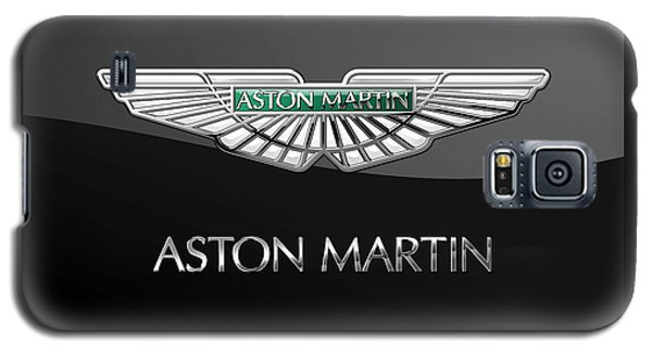 Aston Martin 3 D Badge On Black  Galaxy S5 Case