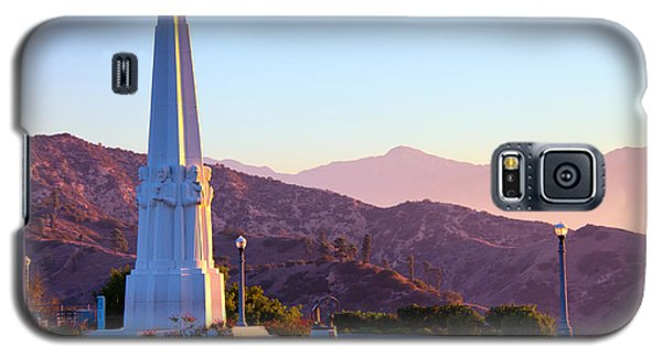 Astronomers Monument In Griffith Park Galaxy S5 Case
