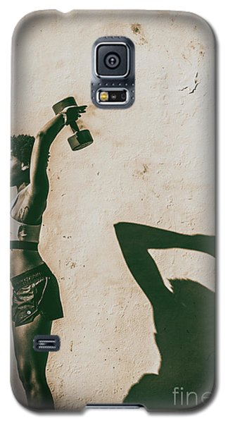 Athletic Woman Galaxy S5 Case