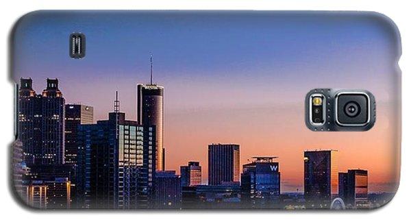 Atlanta Sunset Galaxy S5 Case