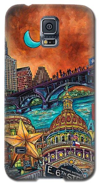 Austin Montage Galaxy S5 Case by Patti Schermerhorn