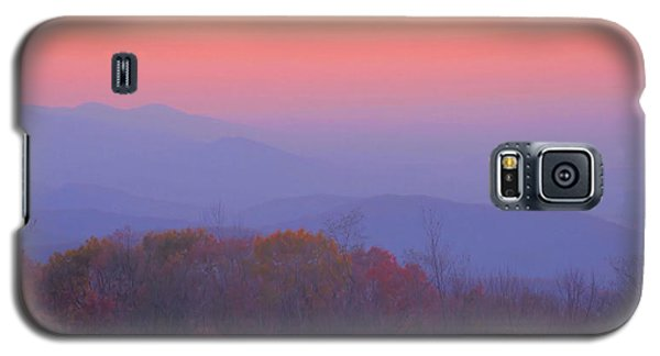 Galaxy S5 Case featuring the photograph Autumn Dawn by Stephen  Vecchiotti