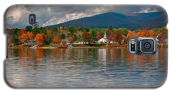 Autumn In Melvin Village Galaxy S5 Case