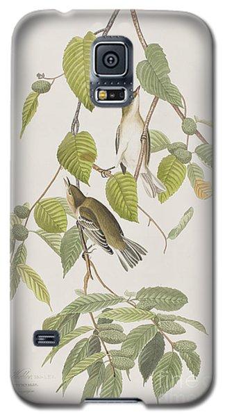 Autumnal Warbler Galaxy S5 Case by John James Audubon