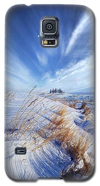 Galaxy S5 Case featuring the photograph Azure by Phil Koch