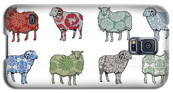 Sheep Galaxy S5 Case - Baa Humbug by Sarah Hough