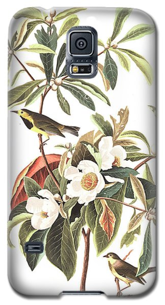 Bachman's Warbler  Galaxy S5 Case by John James Audubon