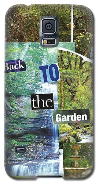Back To The Garden Galaxy S5 Case