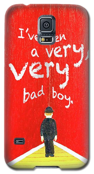 Bad Boy Greeting Card Galaxy S5 Case