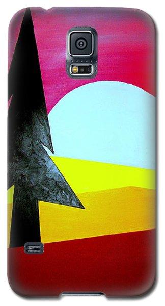 Big Bad Moon Rising Galaxy S5 Case by J R Seymour
