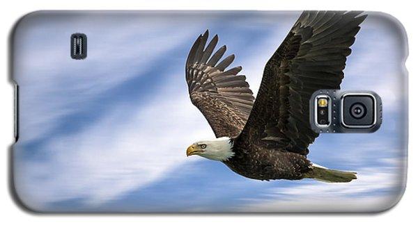 Bald Eagle - 365-12 Galaxy S5 Case by Inge Riis McDonald