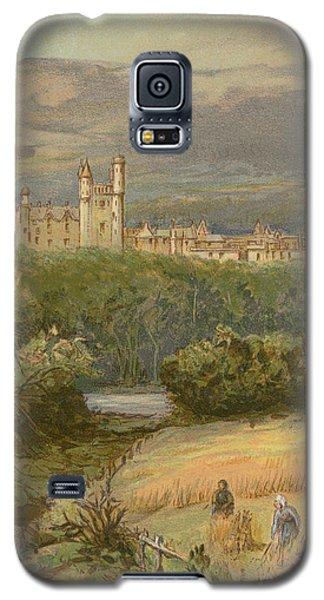 Balmoral Castle Galaxy S5 Case by English School