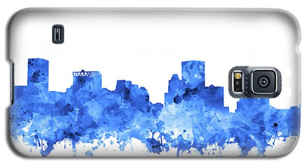 Galaxy S5 Case featuring the painting Baltimore Skyline Watercolor 7 by Bekim Art